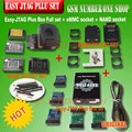 Original Nova versão conjunto Completo caixa de caixa Fácil-Jtag Jtag Fácil plus plus + tomada + NAND EMMC soquete