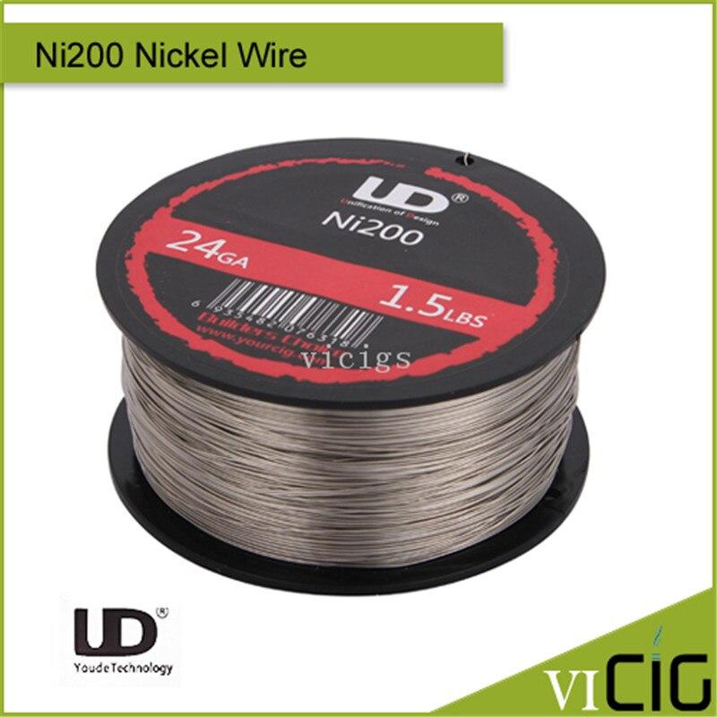 100% Original Youde UD 24ga 26ga 28ga 1.5LBS Ni200 Nickel Wire vr racing free shipping for civic sohc d16 racing light weight aluminum crankshaft pulley oem size 92 95 vr cp009