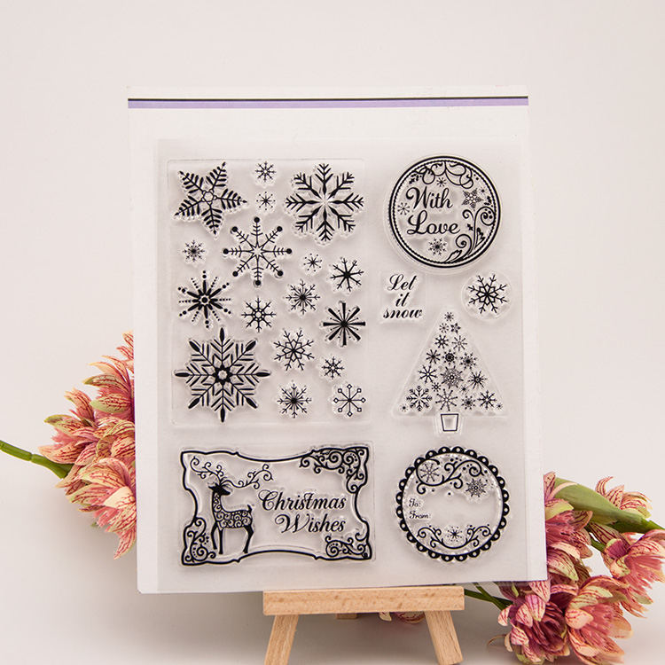 NCraft Clear Stamps N5135 Scrapbook Paper Craft Clear stamp scrapbooking Christmas потолочная люстра st luce preferita sl350 092 08