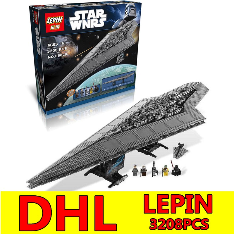 LEPIN 3250Pcs Star Series Wars Execytor Super Star Destroyer Model Building Blocks Bricks Kits Compatible 10221 Children Toys lepin 05035 star wars death star limited edition model building kit millenniums blocks puzzle compatible legoed 75159