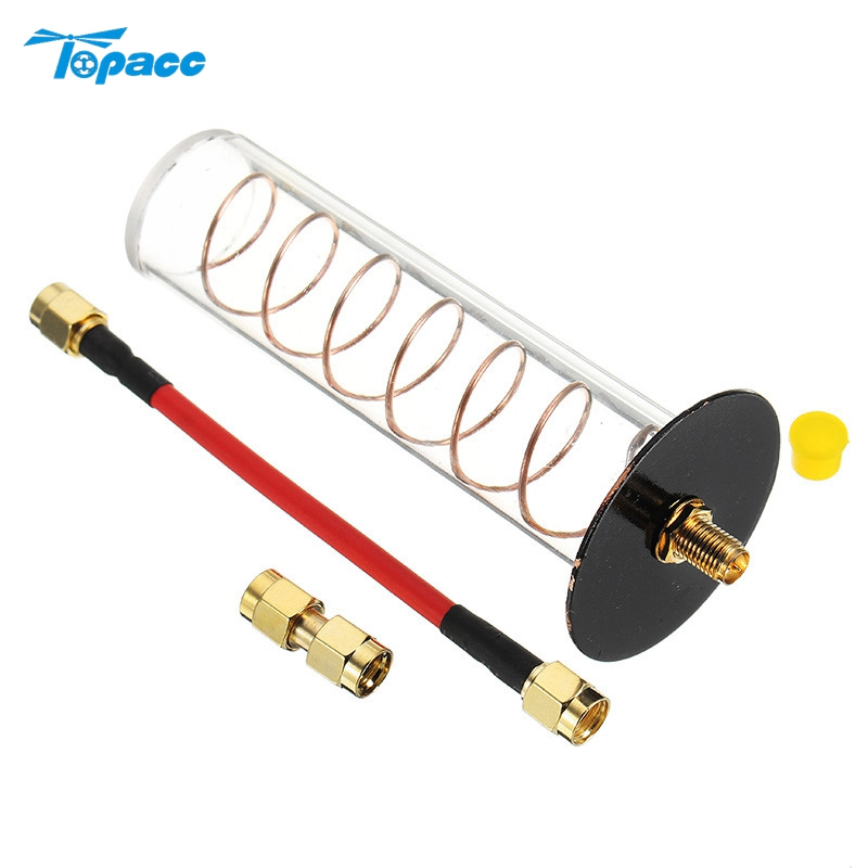 WYFPV 5.8G 16DBi RHCP Directional Spiral Spring Helical FPV Antenna 11cm RP-SMA / SMA for FPV Transmitter TX RC Models DIY Accs high quality 10pcs spring antenna 433mhz antenna helical remote network accessories