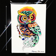 NEW Arrival 3D Vivid Temporary Tattoo Jewelry Women Makeup Body Art Arm Tattoo Sleeves PHB 658