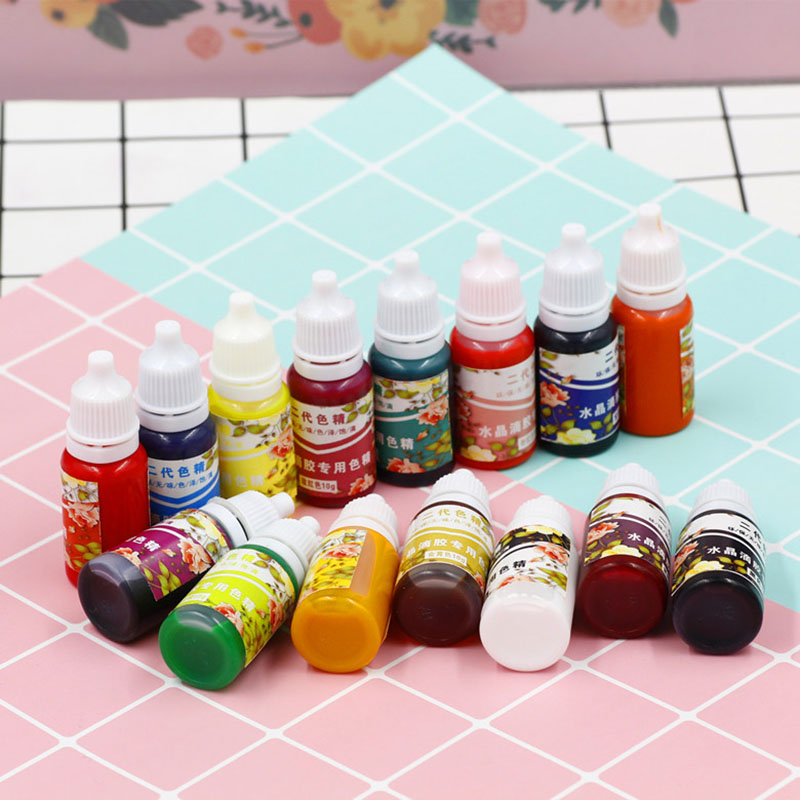Newly High Concentration UV Resin Liquid Pearl Color Dye Pigment Epoxy For DIY Jewelry Making Crafts VA88