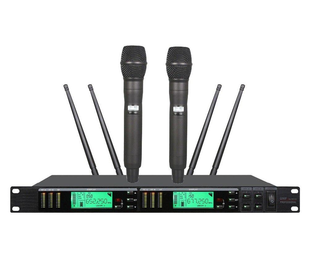 bolymic true diversity stage performance karaoke microphone wireless system digital dual uhf. Black Bedroom Furniture Sets. Home Design Ideas