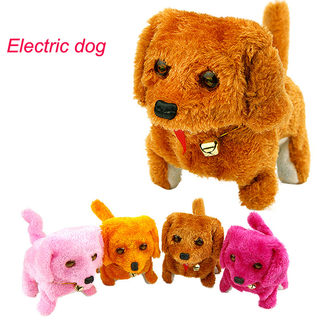 Dog Electronic toys Robot Dog Electronic Pets Cute Walking Barking dog doll toy baby toys brinquedos