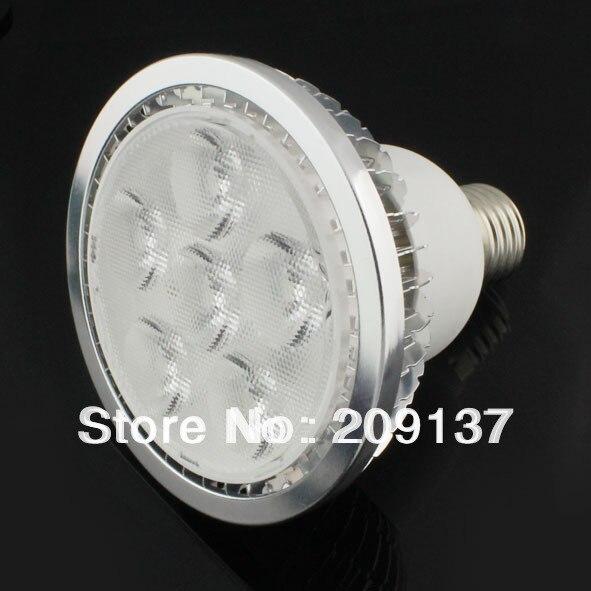 DHL free shipping Par30 Led Lamp E27 Dimmable high power 6X2W 12W Spotlight Led Light Led Bulbs 85V-265V Energy Saving