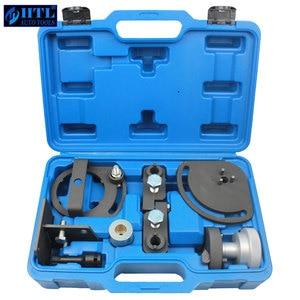Image 1 - Do ustawiania wałka rozrządu narzędzia dla Freelander 2 Volvo T6 3.0L 3.2L mechanizm blokady silnika
