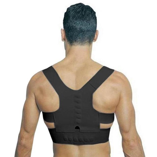 Black Posture brace 5c64ca34e993d