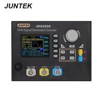 JUNTEK JDS2800 60M 60MHZ Signal Generator Digital Control Dual kanal DDS Funktion Signal Generator frequenz meter 40% Off-in Signalgeneratoren aus Werkzeug bei