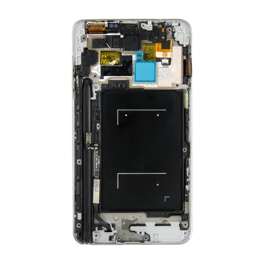 For Samsung Glalaxy Note3 Note 3 <font><b>N9000</b></font> N9005 <font><b>LCD</b></font> Display Touch Screen Digitizer Assembly with Frame +Tools image