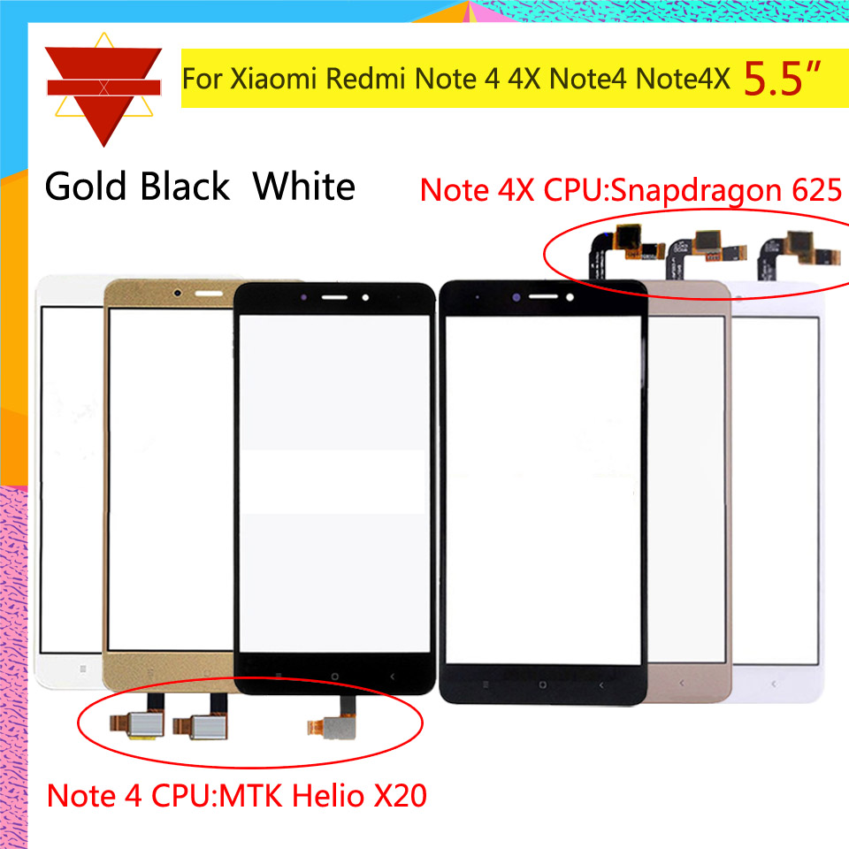 10pcs\lot Original TouchScreen For Xiaomi Redmi Note 4 Redmi Note 4X Touch Screen Sensor LCD Display Digitizer Front Outer Glass10pcs\lot Original TouchScreen For Xiaomi Redmi Note 4 Redmi Note 4X Touch Screen Sensor LCD Display Digitizer Front Outer Glass