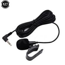 MINI Microphone professionnel Audio de voiture, avec prise Jack 3.5mm, stéréo, externe filaire, pour PC, voiture, Radio DVD, nouveau