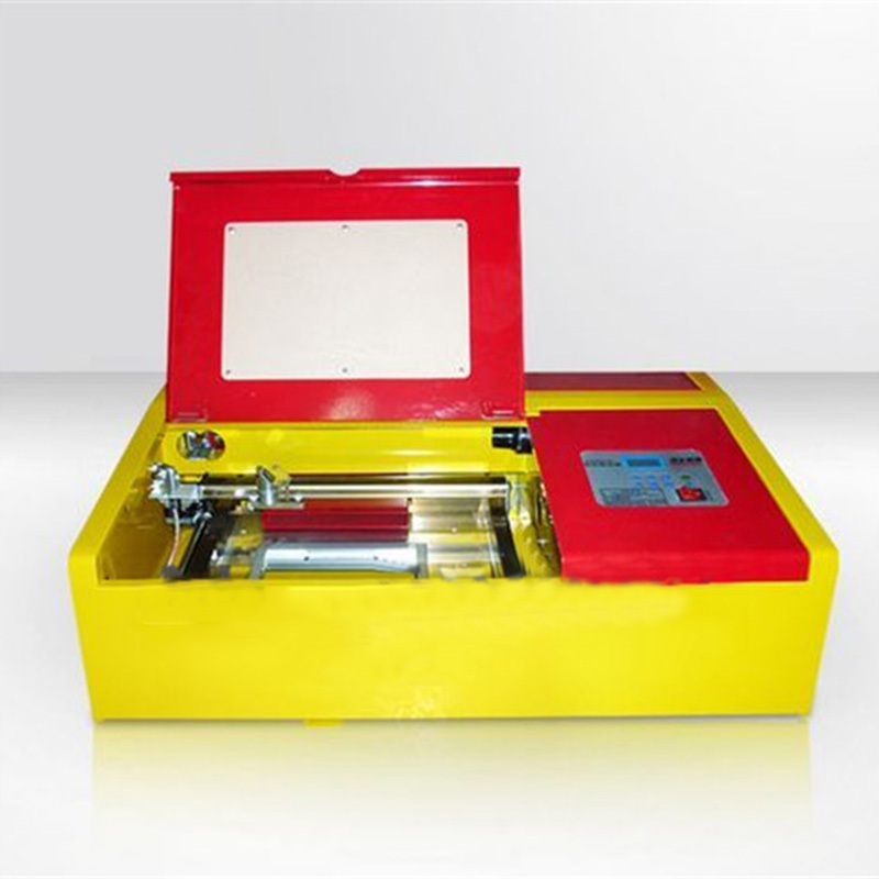 50W CO2 Laser Engraver Engraving Cutting Cutter machine 300*200 Work Table