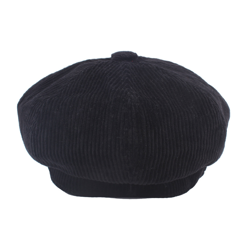 COKK Newsboy Kap Bere Kadın Sonbahar Kış Şapka Kadın Erkek - Elbise aksesuarları - Fotoğraf 4