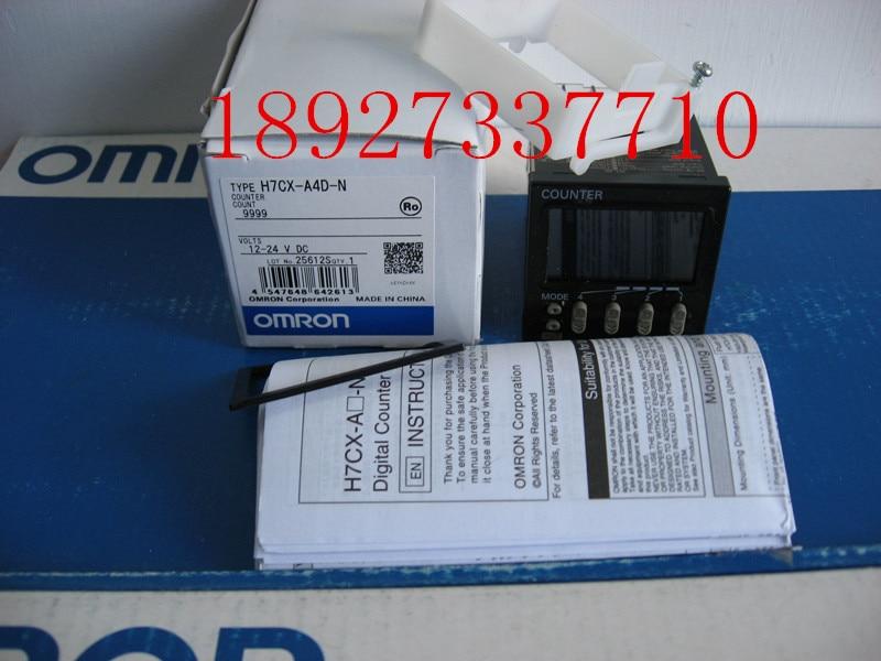 [ZOB] New original Omron omron digital counter H7CX-A4D-N relay 100% new and original h7cx as n h7cx a4s n h7cx a4 n omron 100 240vac