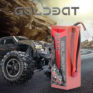 Image 2 - 2 Eenheden Goldbat 5000Mah 14.8V Lipo Batterij Voor Rc Batterij Lipo 4S 50C Met Deans T & XT60 Plug Voor Rc Buggy Crawler Monster Truck