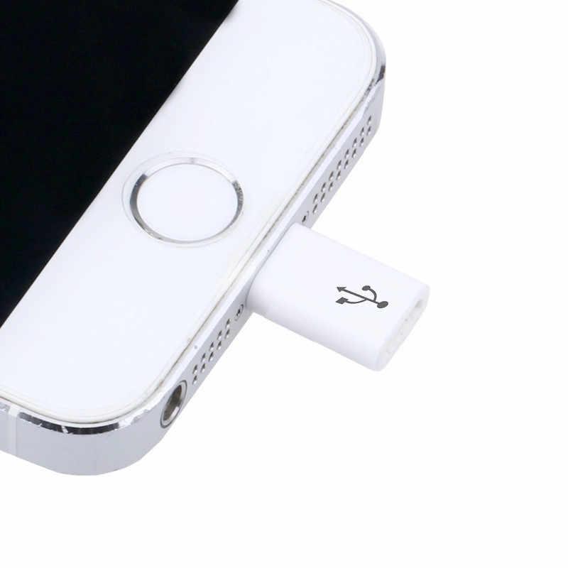 8 Pin для IPhone X 8 7 6 6 S Plus 5 S 5s SE 10 Micro To 8pin зарядное устройство для I Phone 6 plus 7 plus 8 plus чехол для телефона