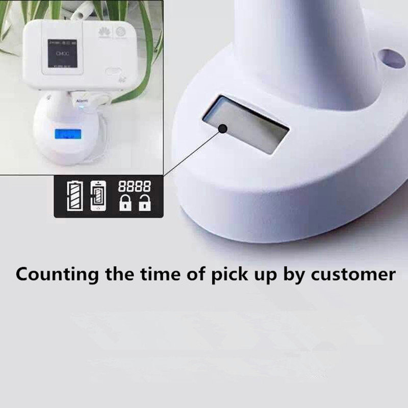 (5 set/lot ) mobile phone security alarm display rack function with charging and pick up time counting 5 set lot cell phone security anti theft display stand with alarm and charging function for mobile phone retail store exhibition