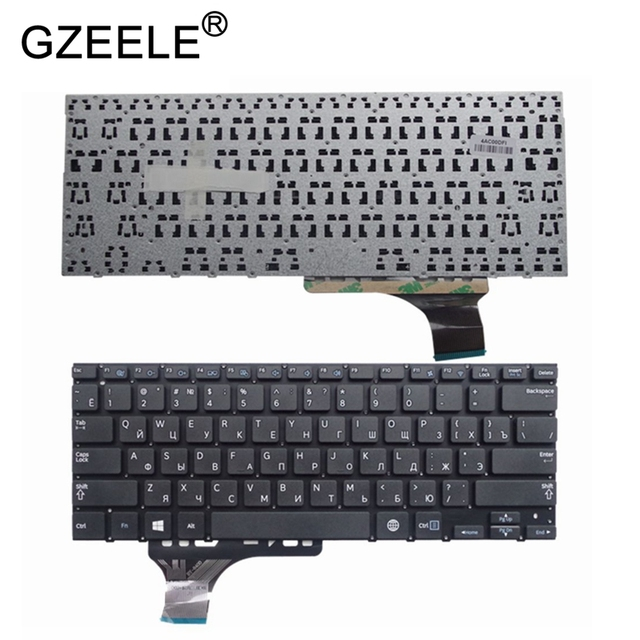 GZEELE جديد لوحة المفاتيح لسامسونج NP530U3B 530U3B NP530U3C 530U3C NP535U3C 535U3C NP540U3C 540U3C 532U3C الروسية RU BA59 03526C