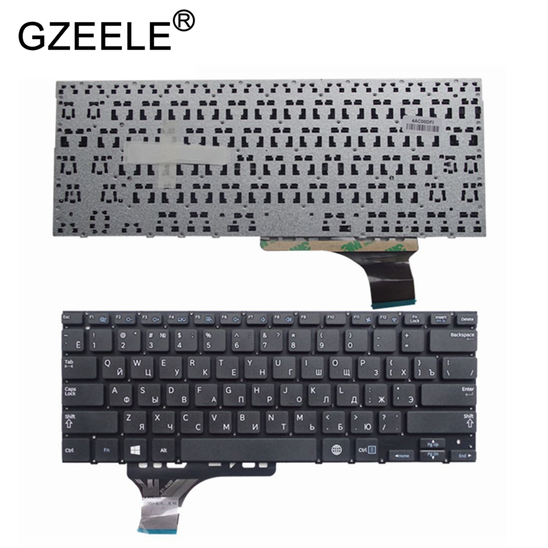 GZEELE New keyboard For SAMSUNG NP530U3B 530U3B NP530U3C 530U3C NP535U3C 535U3C NP540U3C 540U3C 532U3C russian RU BA59 03526C-in Replacement Keyboards from Computer & Office on