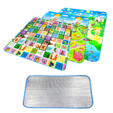 Foam Mat Waterproof Children Baby Crawling Play Kids Game Soft Carpet Playmat Outdoor Picnic 180*150cm