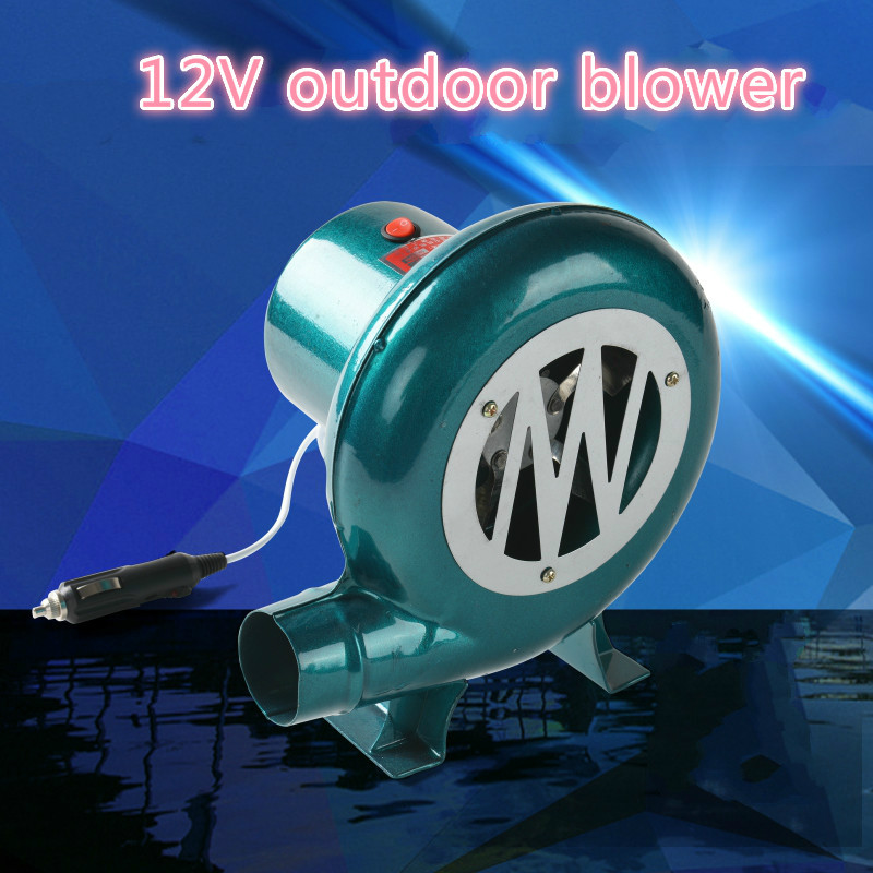 12V car blower Barbecue DC blower Vehicle 12V DC Barbecue Camping fan BBQ accumulator storage battery for blower emacro sf8028h12 53a dc 12v 300ma 80x80x28mm server blower fan