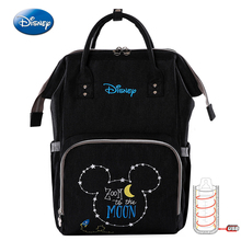 Disney  Oxford USB Thermal Insulation Bag Waterproof Mummy Backpack High-capacity Baby Feeding Bottle Bags travel Storage Bags disney milk food storage thermal bag warmer box baby feeding bottle thermal keeps drinks cool backpack mummy bags diaper bags
