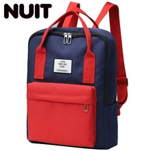 Women Laptop Backpack Waterproof Canvas Color Backpacks Schoolbag Bookbags For Teenage Boys And Girls High Quality Travel Bag