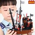 Классический Корабль Игрушка WMX 13118 Пиратский Корабль Avenger Строительные Блоки Дети Детей Игрушки Рождественские Подарки, совместимые с legoe
