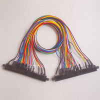 Jamma Cable Extender With Plastic Cover Game Accessory For Amusement Machine 28 Pin Wires For Arcade