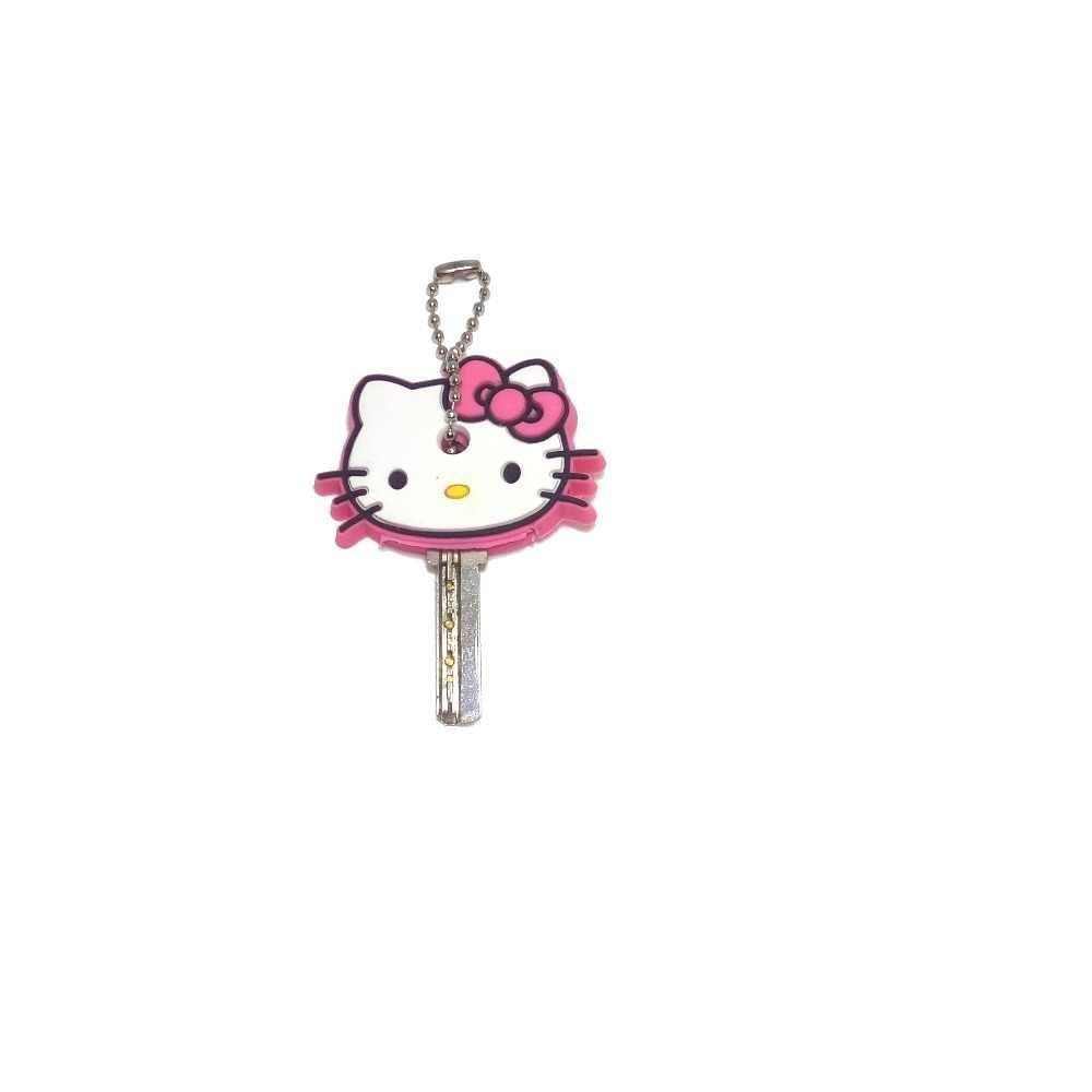Silicone dos desenhos animados caso chave protetora capa para controle chave titular capa de poeira organizador acessórios para casa suprimentos