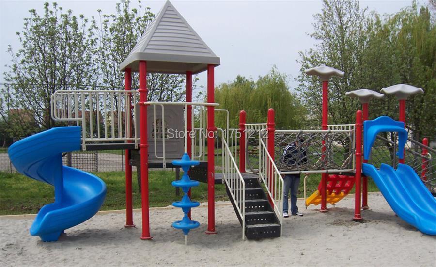 estndar de la ue parque infantil exterior galvanzied nios acero juguete del patio hz