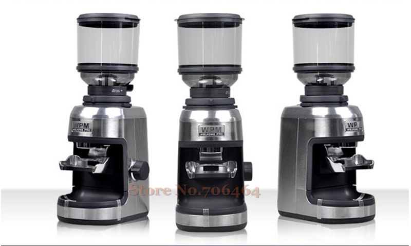 Professional commercial electric houshold Conical burr coffee grinder high quality coffee appliance advanced grinding system