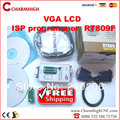 Discount! VGA LCD ISP programmer RT809F Serial ISP Programmer + 1 adapter PC Repair 24-25-93 serise IC RTD2120, best price!