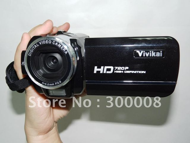 "Full HD 1080P 16MP Digital Camcorder with 3.0"" TFT LCD screen, 8X Digital zoom, MP3 Player and Li-ion Battery"