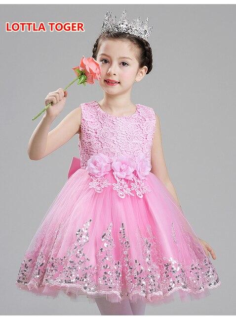 12d4b5b2fe Newborn Baby Dziewczyny Suknie Księżniczka 1 Rok Urodziny Baby Girl dress  biały formalna suknia chrzciny dress