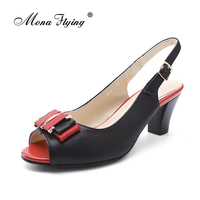 Women S Sandals Shoes 2017 Brand Genuine Leather Women Hight Heels Sandals For Women Elegant Big