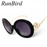 New Retro Round Sunglasses Women Brand Designer Vintage Sun Glasses Women Sunglass Oculos De Sol Gafas