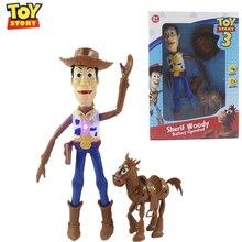 Historia de juguete de Disney Pixar 4 leñoso Sheriff zumbador Lightyear funda de juguete de bruja niños modelo educativo de juguete para niños
