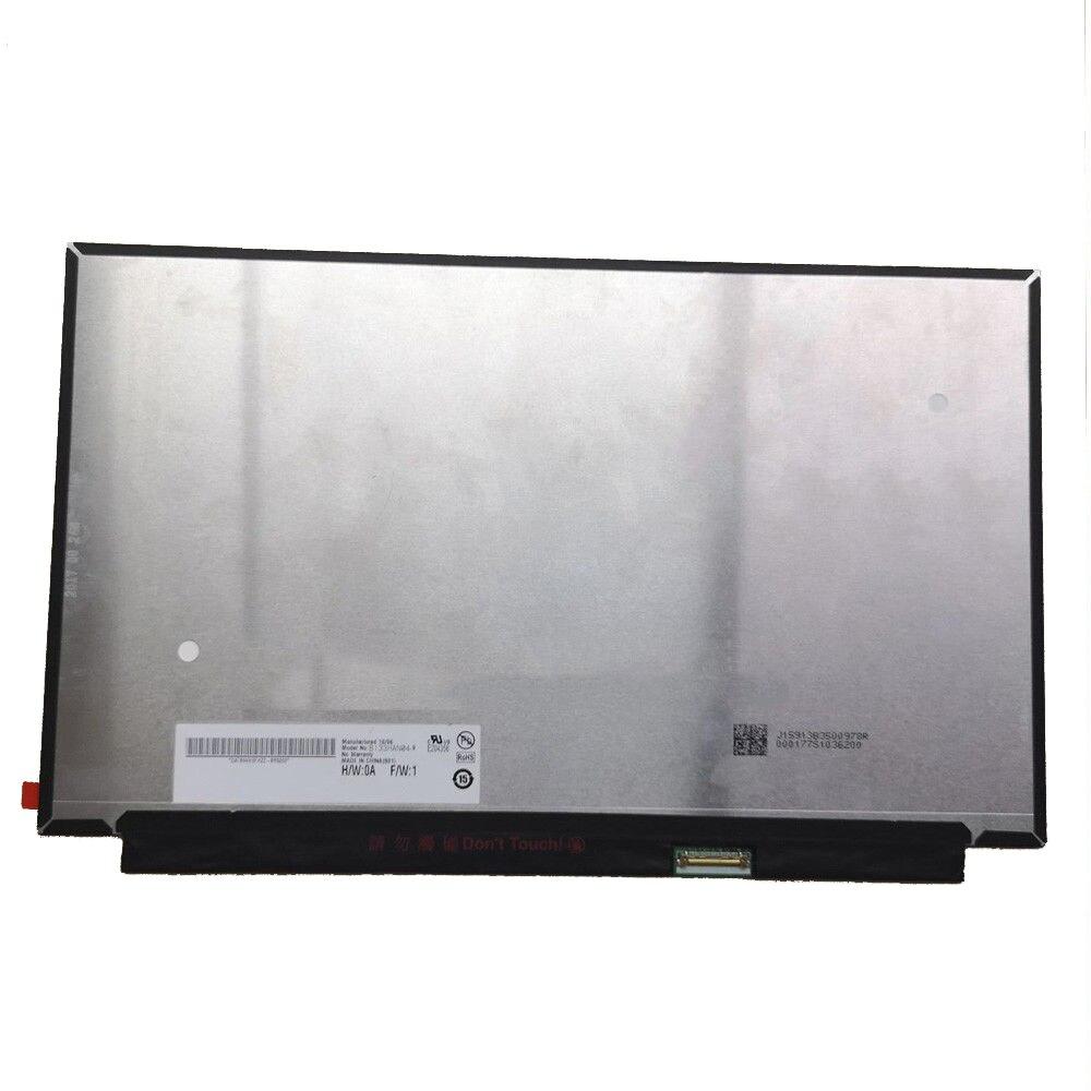 72 NTSC IPS Matrix for Laptop 13 3 LED LCD Screen For AUO B133HAN04 9 1920x1080
