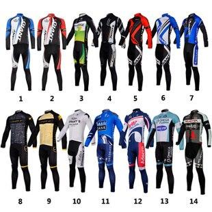 Free shipping to retail and wholesale / 2013 new cycling jerseys/long suit/bike/mountain biking/cycling wear