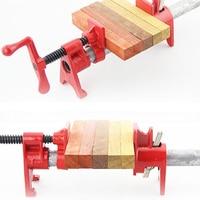 Fixture Carpenter Woodworking Tools 3/4 1/2 inch Heavy Duty Pipe Clamp Woodworking Wood Gluing Pipe Clamp