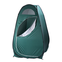 US Warehouse Green Portable Tent Privacy Shelter Outdoor Pop up Toilet Dressing Fitting Room