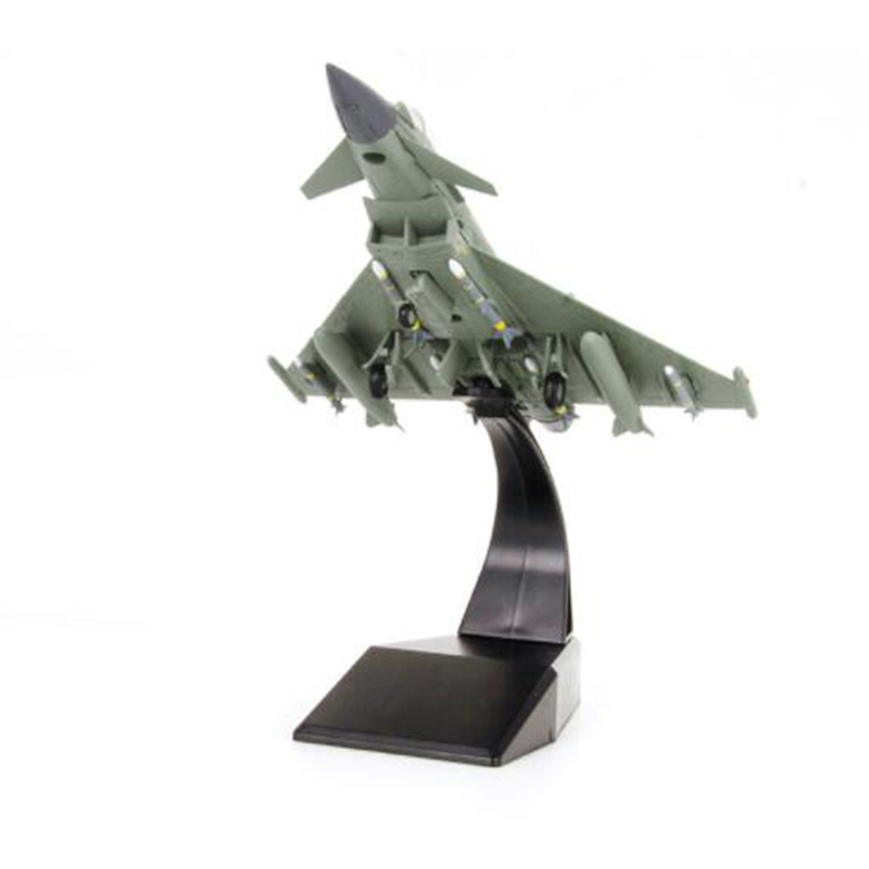 1 100 scale Eurofighter Typhoon Fighter military aircraft airplane models toy adult children toys for display