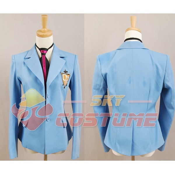 Ouran High School Host Club School Uniform Boy Jacket Coat Blazer Tie Party Halloween Anime Cosplay Costume