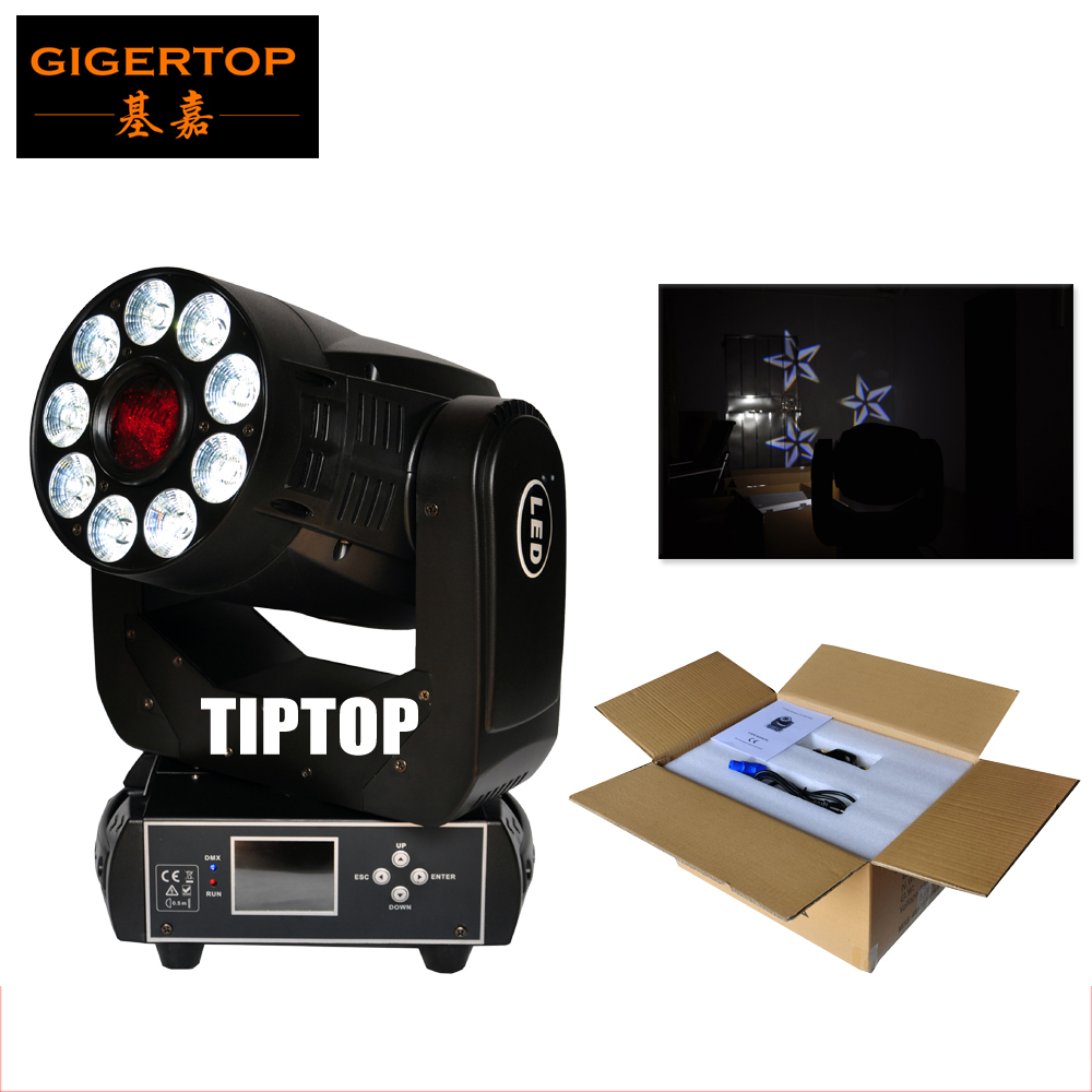 TIPTOP Stage Light TP-L6K2 200W Led Moving Head Light 2IN1 Spot+Wash 1x75W White/9*12W RGBWA UV 6IN1 Tyanshine Color/Gobo Wheel freeshipping tiptop 200w led profile spot rgbw 4in1 stage wash effect cast aluminum gobo frame spring clip safety zoom tp 007