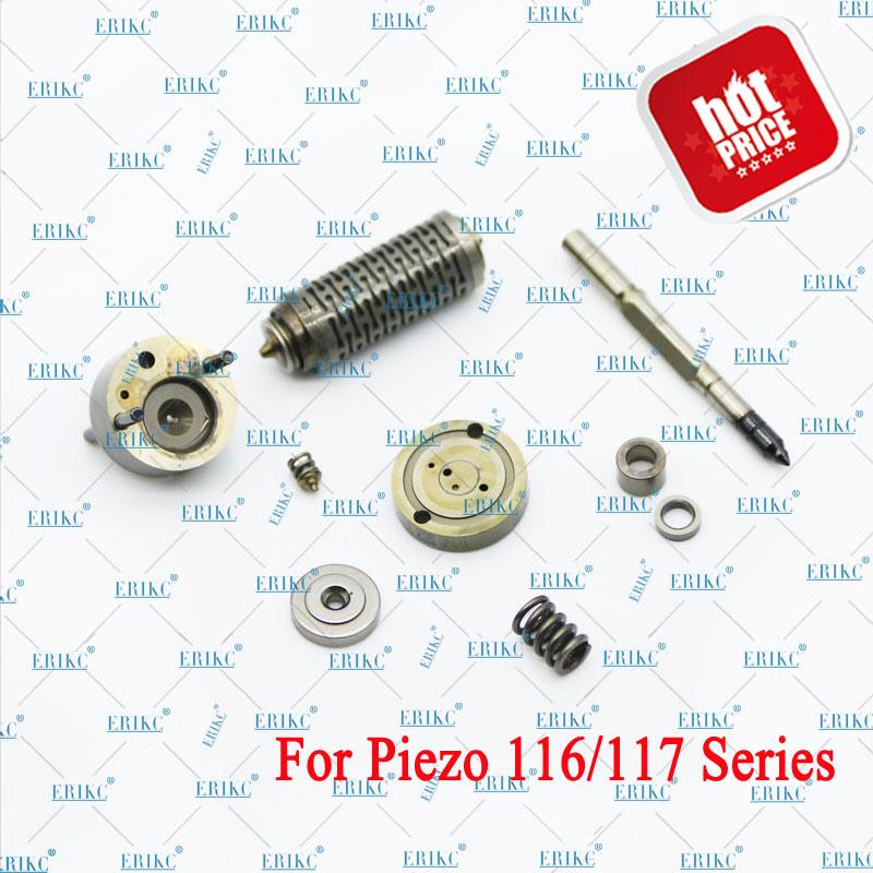 ERIKC F 00G X17 005 Common Rail дизельный пьезоинжектор комплект для ремонта клапана F00GX17005 (FOOGX17005) для BOSCH 0445116/117 сопла