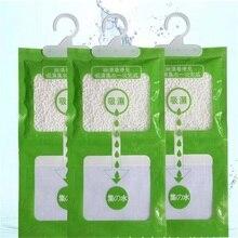 Бытовые Висячие поглотитель влаги для шкафа сумки 3 шт. влагостойкие влагопоглощающие мешки