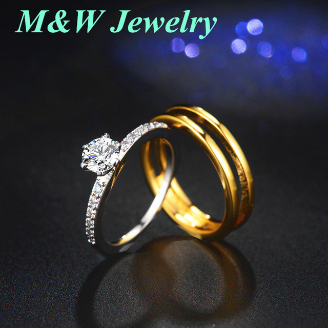 M W Jewelry On The Ring For Women Engagement Rings Sets Quit Foreign Trade Wish Ing