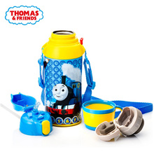 THOMAS stainless steel insulation pot 600ml portable multi-function childrens vacuum cup baby favorite kettle